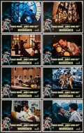 "Movie Posters:James Bond, Moonraker (United Artists, 1979). Lobby Card Set of 8 (11"" X 14""). James Bond.. ... (Total: 8 Items)"