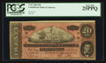 Confederate Notes:1864 Issues, Darker Red Tint T67 $20 1864.. ...