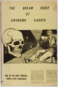 Books:Horror & Supernatural, H. P. Lovecraft. LIMITED. The Dream Quest of Unknown Kadath.Buffalo: Shroud, 1955. First edition, first printing, ...