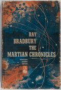 Books:Science Fiction & Fantasy, Ray Bradbury. The Martian Chronicles. Doubleday, 1950. Firstedition, first printing. Lightly rubbed green cloth wit...