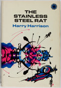 Books:Science Fiction & Fantasy, Harry Harrison. The Stainless Steel Rat. Walker, 1970. First hardcover edition, first printing. White cloth with thu...