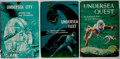 Books:Science Fiction & Fantasy, Frederik Pohl and Jack Williamson. Group of Three Signed FirstEditions of the Undersea Trilogy. Gnome, 1954-1958. All are...(Total: 3 Items)
