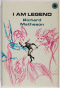 Books:Science Fiction & Fantasy, Richard Matheson. I Am Legend. Walker, 1970. First hardcover edition, first printing. Some mild toning to white ...