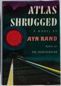 Books:Literature 1900-up, Ayn Rand. Atlas Shrugged. Random House, 1957. First edition,first printing. Mild rubbing to cloth with one abraded ...