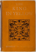 Books:Horror & Supernatural, Robert W. Chambers. The King in Yellow. Harper &Brothers, 1902. Later edition. Light rubbing to cloth with a le...