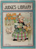 Books:Americana & American History, Our Cook, Contained in Judge's Library. No. 166.January, 1903. Vertical crease. Wrappers worn with spli...