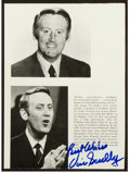 Baseball Collectibles:Photos, Vin Scully Signed Photo Page. ...