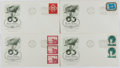 Books:Non-fiction, [First Day Covers]. Group of Four Related to the United Nations. 1951. Fine. ...