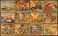 Non-Sport Cards:Lots, 1938 Gum Inc. Horrors of War Collection (48). ...