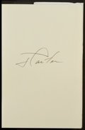 Miscellaneous Collectibles:General, Jimmy Carter Signed Hardcover Books Lot of 2....