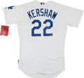 Baseball Collectibles:Uniforms, Clayton Kershaw Signed Los Angeles Dodgers Jersey - Steiner....