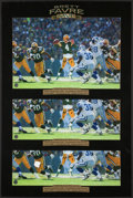 "Football Collectibles:Photos, Brett Favre Signed Oversized ""1996 MVP"" Photographs Lot of 5. ..."