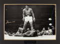 Boxing Collectibles:Autographs, Muhammad Ali Signed Oversized Photograph - Steiner....