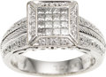 Estate Jewelry:Rings, Diamond, White Gold Ring, Charriol. ...