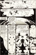 Original Comic Art:Panel Pages, Keith Giffen and Larry Mahlstedt Legion of Super-Heroes #294Page 21 Original Art (DC, 1982)....