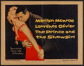 "Movie Posters:Romance, The Prince and the Showgirl (Warner Brothers, 1957). Half Sheet(22"" X 28""). Romance.. ..."
