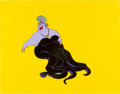Animation Art:Production Cel, The Little Mermaid Ursula Color Model Cel Animation Art(Disney, 1989)....