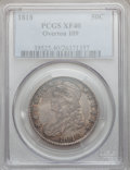 Bust Half Dollars: , 1818 50C XF40 PCGS. O-109. PCGS Population (89/488). NGC Census: (48/429). Mintage: 1,960,322. Numismedia Wsl. Price for p...