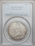 Bust Half Dollars, 1813 50C XF45 PCGS. O-110. PCGS Population (76/317). NGC Census:(65/551). Mintage: 1,241,903. Numismedia Wsl. Price for p...