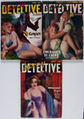 Pulps:Detective, Spicy Detective Stories Group (Culture, 1936) Condition: Average VG-.... (Total: 3 Items)
