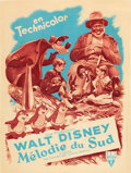 "Movie Posters:Animation, Song of the South (RKO, 1946). French Affiche (23.5"" X 31.5"").. ..."
