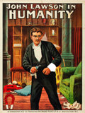"Movie Posters:Crime, Humanity (Magnet Releasing, 1913). One Sheet (30"" X 39.5""). Alternate Title: Only a Jew.. ..."