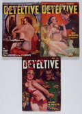 Pulps:Detective, Spicy Detective Stories Group (Culture, 1935) Condition: Average VG-.... (Total: 3 Items)