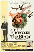 """Movie Posters:Hitchcock, The Birds (Universal, 1963). One Sheet (27"""" X 41"""").. ..."""