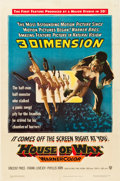 "Movie Posters:Horror, House of Wax (Warner Brothers, 1953). One Sheet (27"" X 41"") 3-D Style.. ..."