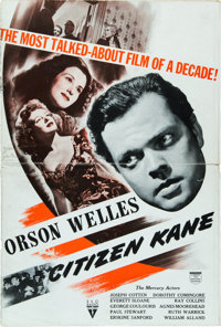 "Citizen Kane (RKO, 1941). Uncut Pressbook (Multiple Pages, 12"" X 18')"