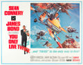 "Movie Posters:James Bond, You Only Live Twice (United Artists, 1967). Subway (45.5"" X 59.25"")Style B.. ..."