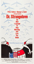 "Movie Posters:Comedy, Dr. Strangelove or: How I Learned to Stop Worrying and Love theBomb (Columbia, 1964). Three Sheet (42"" X 78"").. ..."
