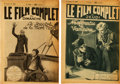 "Movie Posters:Horror, Nosferatu (Film Arts Guild, 1922). Le Film Complet Magazines (2)(Multiple Pages, 7"" X 10"").. ... (Total: 2 Items)"