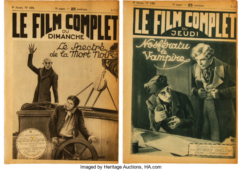 Nosferatu (Film Arts Guild, 1922)  Le Film Complet Magazines