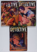 Pulps:Detective, Spicy Detective Stories Group (Culture, 1935-36) Condition: AverageVG-.... (Total: 3 Items)