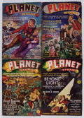 Pulps:Science Fiction, Planet Stories Box Lot (Fiction House, 1939-49) Condition: Average VG-....