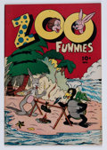 "Golden Age (1938-1955):Funny Animal, Zoo Funnies #2 Davis Crippen (""D"" Copy) pedigree (Charlton, 1945)Condition: VF/NM...."