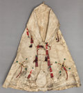 American Indian Art:Beadwork and Quillwork, A SIOUX BEADED HIDE MODEL TIPI. c. 1890 ...