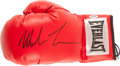 Boxing Collectibles:Autographs, Circa 2010 Mike Tyson Signed Boxing Glove. ...