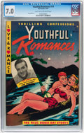 Golden Age (1938-1955):Romance, Youthful Romances #14 (Pix Parade, 1952) CGC FN/VF 7.0 Light tan tooff-white pages....
