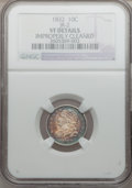 Bust Dimes: , 1832 10C -- Improperly Cleaned -- NGC Details. VF. JR-2. NGCCensus: (3/262). PCGS Population (5/308). Mintage: 522,500. N...