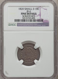 Bust Dimes, 1820 10C Small 0 -- Scratches -- NGC Details. Fine. JR-6. NGCCensus: (3/226). PCGS Population (5/161). Mintage: 942,587. N...
