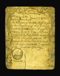 Colonial Notes:Massachusetts, Massachusetts December 7, 1775 4s6d Fine. There are some minorrestoration and edge splits but the signatures and serial num...