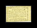 Colonial Notes:Massachusetts, Massachusetts June 18, 1776 3s/6d About New. A single light center fold is found on this Massachusetts note that is in a gra...
