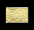 Colonial Notes:Massachusetts, Massachusetts June 18, 1776 4s/4d Very Fine-Extremely Fine. Thisissue has coarse and thick paper that did not print well le...