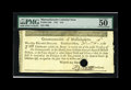 Colonial Notes:Massachusetts, Massachusetts 1781 $16 PMG About Uncirculated 50 EPQ, HOC. This isa rare high-grade example of the highest denomination fro...