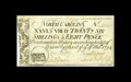 Colonial Notes:North Carolina, North Carolina March 9, 1754 26s/8d Extremely Fine, restored. Thisis actually a very attractive example of this tougher den...