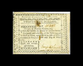 Colonial Notes:North Carolina, North Carolina May 10, 1780 $25 About New. Lightly handled is thisscarce note that does have some spotting, a pair of pinho...