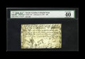Colonial Notes:South Carolina, South Carolina February 8, 1779 $50 PMG Extremely Fine 40. This lovely Coram note has the image of Atlas holding a boulder o...