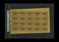 Fractional Currency:First Issue, Fr. 1230 5c First Issue Complete Sheet of Twenty PMG ChoiceUncirculated 63. The third party grade for this full first issue...